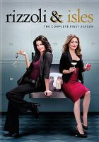 Cover image for Rizzoli & Isles. The complete first season [videorecording (DVD)]