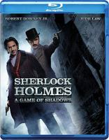 Cover image for Sherlock Holmes [videorecording (Blu-ray)] : a game of shadows