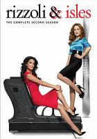 Cover image for Rizzoli & Isles. the complete second season [videorecording (DVD)]