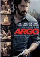 Cover image for Argo [videorecording (DVD)]