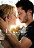 Cover image for The lucky one [videorecording (DVD)]