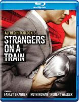 Cover image for Strangers on a train [videorecording (Blu-ray)]