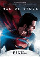 Cover image for Man of steel [videorecording (DVD)]
