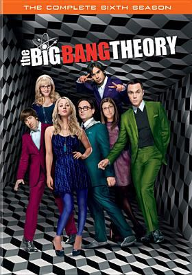 Cover image for The big bang theory. The complete sixth season [videorecording (DVD)]