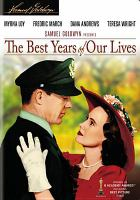 Cover image for The best years of our lives [videorecording (DVD)]