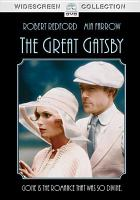 Cover image for The Great Gatsby [videorecording (DVD)]