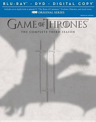 Cover image for Game of thrones. The complete third season [videorecording (Blu-ray)]