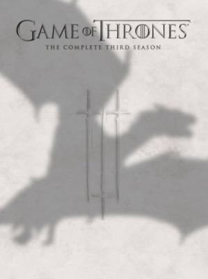 Cover image for Game of thrones. The complete third season  [videorecording (DVD)]