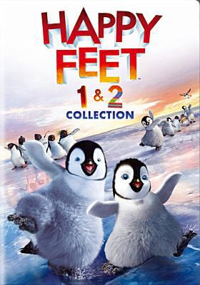 Cover image for Happy feet. 1 & 2 [videorecording (DVD)] : collection