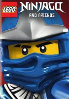 Cover image for Lego ninjago and friends [videorecording (DVD)].