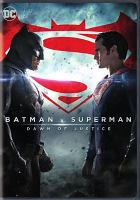 Cover image for Batman v Superman [videorecording (DVD)] : dawn of justice