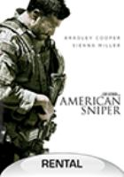 Cover image for American sniper [videorecording (DVD)]