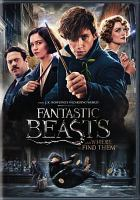 Cover image for Fantastic beasts and where to find them [videorecording (DVD)]