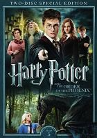 Cover image for Harry Potter and the Order of the Phoenix [videorecording (DVD)]