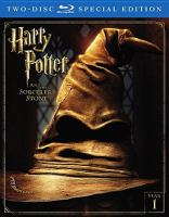 Cover image for Harry Potter and the sorcerer's stone [videorecording (Blu-ray)]
