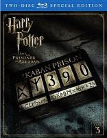 Cover image for Harry Potter and the prisoner of Azkaban [videorecording (Blu-ray)]