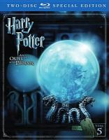 Cover image for Harry Potter and the Order of the Phoenix [videorecording (Blu-ray)]