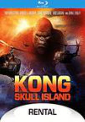 Cover image for Kong [videorecording (Blu-ray)] : Skull Island