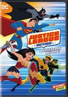 Cover image for Justice league action. Season 1, part 2, Battles from beyond! [videorecording (DVD)]