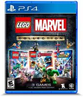 Cover image for LEGO Marvel collection [electronic resource (video game)].