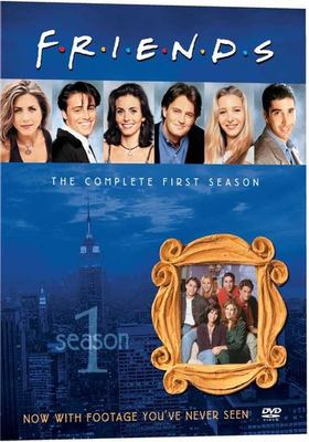 Cover image for Friends. The complete first season