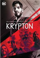 Cover image for Krypton. The complete second & final season [videorecording (DVD)].
