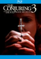 Cover image for The conjuring,. Devil made me do it [videorecording (Blu-ray)]