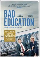 Cover image for Bad education [videorecording (DVD)]