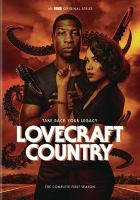 Cover image for Lovecraft country. The complete first season [videorecording (DVD)]