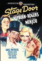 Cover image for Stage door [videorecording (DVD)]