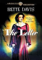 Cover image for The letter [videorecording (DVD)]