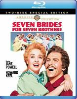 Cover image for Seven brides for seven brothers [videorecording (Blu-ray)]