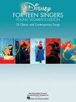 Cover image for Disney for teen singers : 35 classic and contemporary songs.
