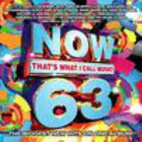 Cover image for Now that's what I call music!. 63 [sound recording (CD)].