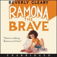 Cover image for Ramona the brave [sound recording (book on CD)]