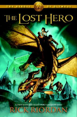 Cover image for The lost hero [sound recording (book on CD)]
