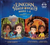 Cover image for The unicorn rescue society. Books 1-2 [sound recording (book on CD)]