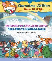 Cover image for Geronimo Stilton. Books 22 & 24 [sound recording (book on CD)].