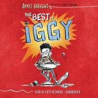 Cover image for The best of Iggy [sound recording (book on CD)]