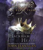 Cover image for The battle of Hackham Heath [sound recording (book on CD)]