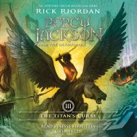 Cover image for The Titan's curse [sound recording (book on CD)]