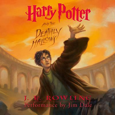 Cover image for Harry Potter and the deathly hallows [sound recording (book on CD)]