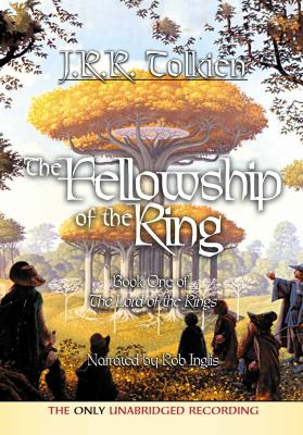 Cover image for The fellowship of the ring [sound recording (book on CD)]