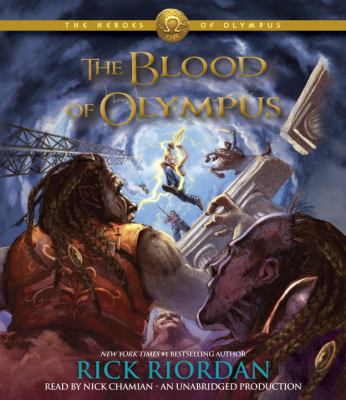 Cover image for The blood of Olympus [sound recording (book on CD)]
