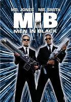 Cover image for Men in black [videorecording (DVD)]