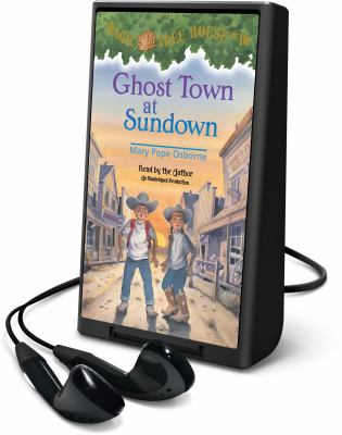 Cover image for Ghost town at sundown [electronic resource (Playaway)]