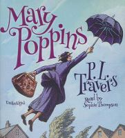 Cover image for Mary Poppins [sound recording (book on CD)]
