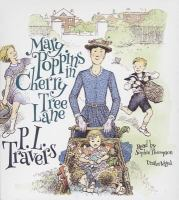 Cover image for Mary Poppins in Cherry Tree Lane [sound recording (book on CD)]