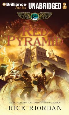 Cover image for The red pyramid [sound recording (book on CD)]