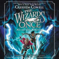 Cover image for Never and forever [sound recording (book on CD)]
